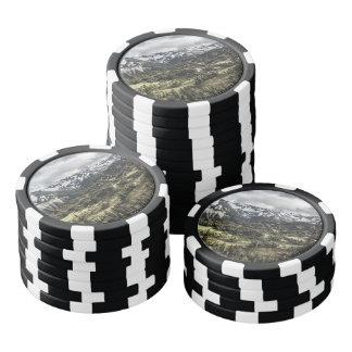 Mount Rainier Poker Chips