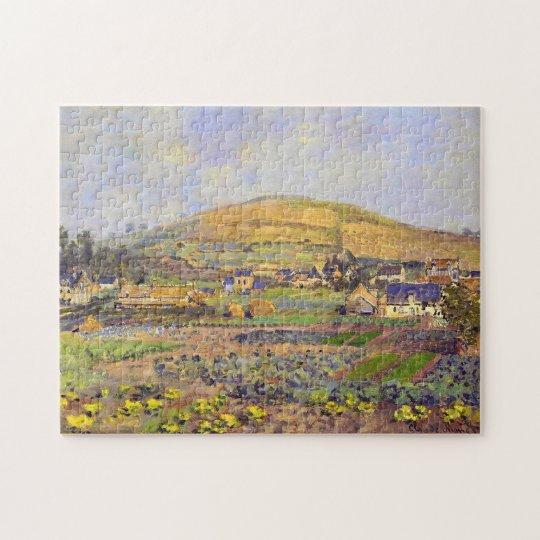 Mount Riboudet Rouen, Spring Monet Fine Art Jigsaw Puzzle