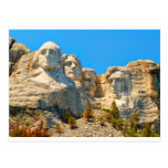 Mount Rushmore Classic View Post Card