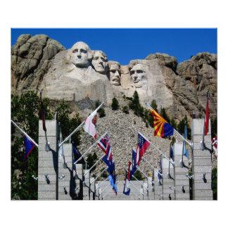 Mount Rushmore Customizable Photo Souvenir