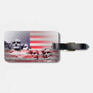 Mount Rushmore Luggage tag