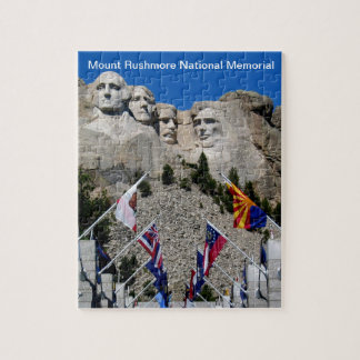 Mount Rushmore National Memorial Souvenir Jigsaw Puzzle