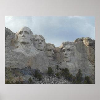 Mount Rushmore Scenic Poster