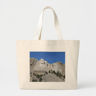 Mount Rushmore South Dakota Presidents USA America Large Tote Bag