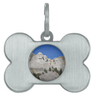 Mount Rushmore South Dakota Presidents USA America Pet Tag