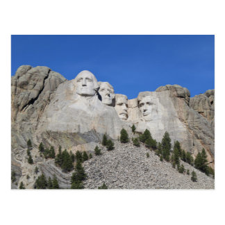 Mount Rushmore South Dakota Presidents USA America Postcard