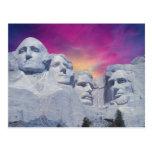 Mount Rushmore, South Dakota, USA Presidents Postcard