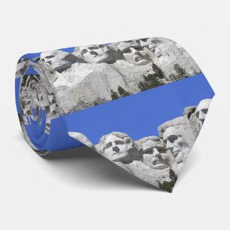Mount Rushmore Tie