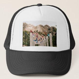 Mount Rushmore Trucker Hat