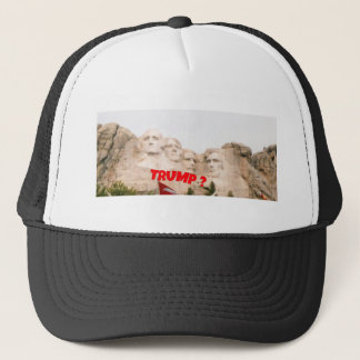 Mount Rushmore Trump ? Trucker Hat