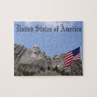 Mount Rushmore United States of America Puzzle