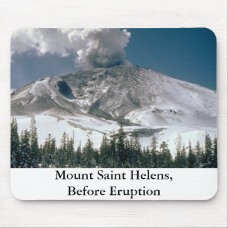 Mount Saint Helens - Pre-Eruption Mouse Pad