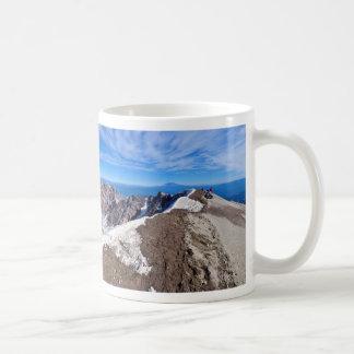 Mount Saint Helens Stratovolcano Summit Panorama Coffee Mug