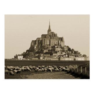 Mount Saint-Michel Postcard