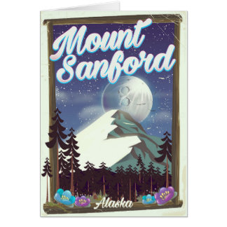 Mount Sanford Alaska Card