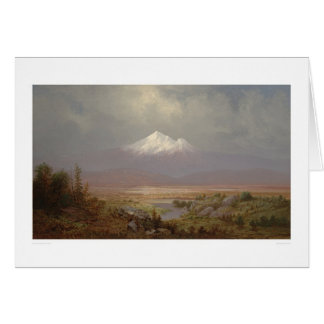 Mount Shasta and Shastina Lake (1151) Card