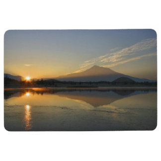 MOUNT SHASTA AT SUNRISE FLOOR MAT