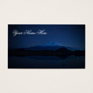 MOUNT SHASTA BY STARLIGHT BUSINESS CARD