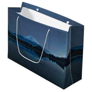 MOUNT SHASTA BY STARLIGHT LARGE GIFT BAG