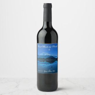 MOUNT SHASTA BY STARLIGHT WINE LABEL