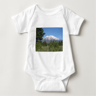 Mount Shasta California Baby Bodysuit
