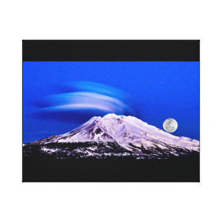 Mount Shasta California Canvas Print