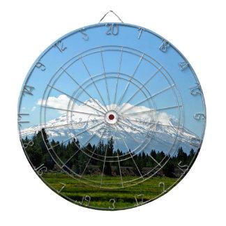 Mount Shasta California Mountain Landscape Nature Dartboard