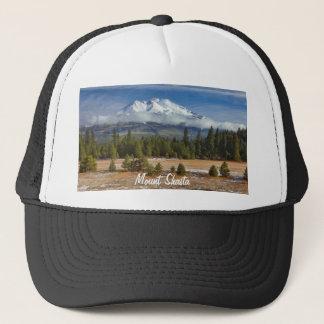 MOUNT SHASTA IN SNOW TRUCKER HAT