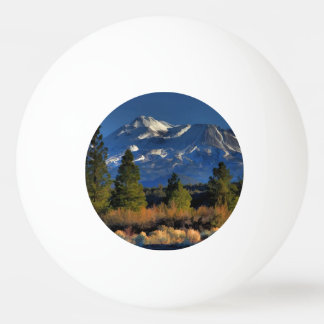MOUNT SHASTA PING PONG BALL