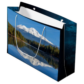 MOUNT SHASTA REFLECTED LARGE GIFT BAG