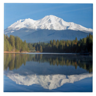 MOUNT SHASTA REFLECTED TILE