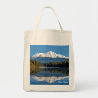 MOUNT SHASTA REFLECTED TOTE BAG