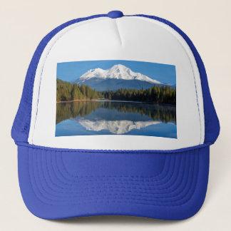 MOUNT SHASTA REFLECTED TRUCKER HAT