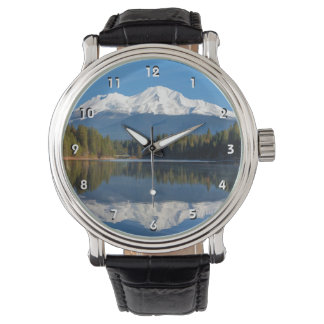 MOUNT SHASTA REFLECTED WATCH