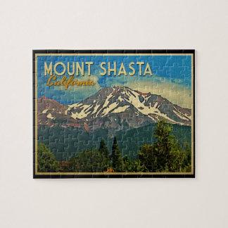 Mount Shasta Vintage Jigsaw Puzzle
