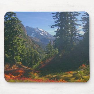 Mount Shuksan in Autumn Mouse Pad