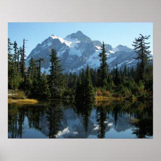 Mount Shuksan Landscape Poster