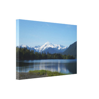 Mount Shuksan, USA, Wrapped Canvas