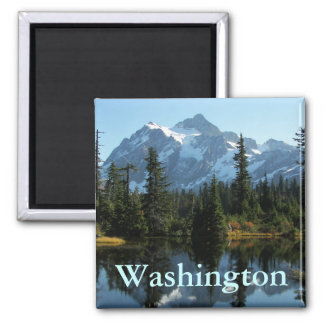 Mount Shuksan, Washington Photo Magnet