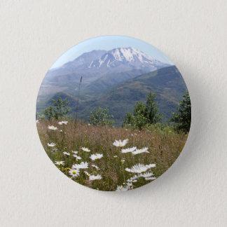Mount St. Helens 6 Cm Round Badge