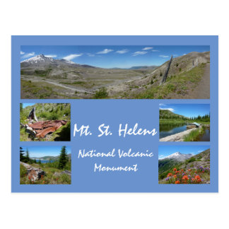 Mount St Helens Collage 2 Postcard
