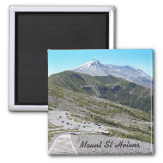 Mount St Helens Photo Magnet