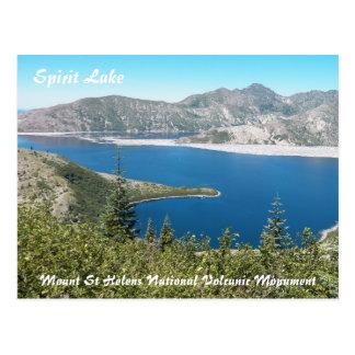 Mount St Helens Spirit Lake Travel Photo Postcard