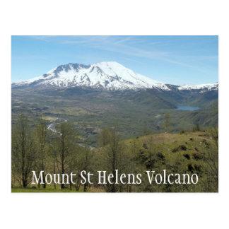 Mount St Helens Volcanic Landscape Travel Photo Postcard