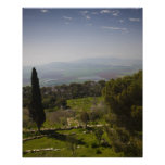 Mount Tabor, site of biblical transfiguration Poster