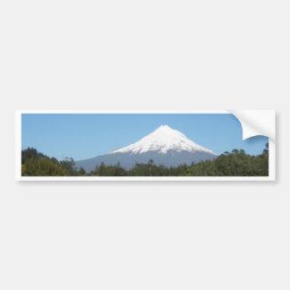 Mount Taranaki Car Bumper Sticker