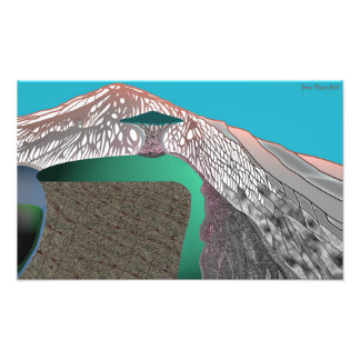 Mount Ting Photo Print
