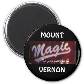 Mount Vernon Magic Magnet