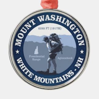 Mount Washington Metal Ornament