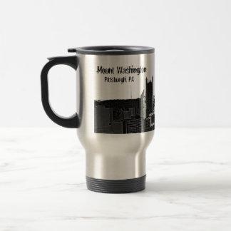 Mount Washington, Pittsburgh, PA Travel Mug